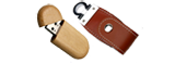 Wood&Leather Promotional Memory Drive