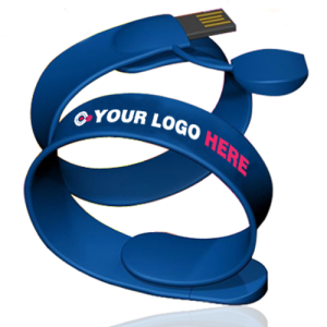 branded usb wristbands