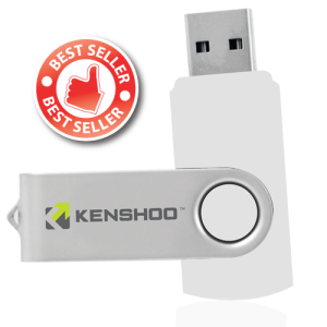 personalised twist to open usb drive
